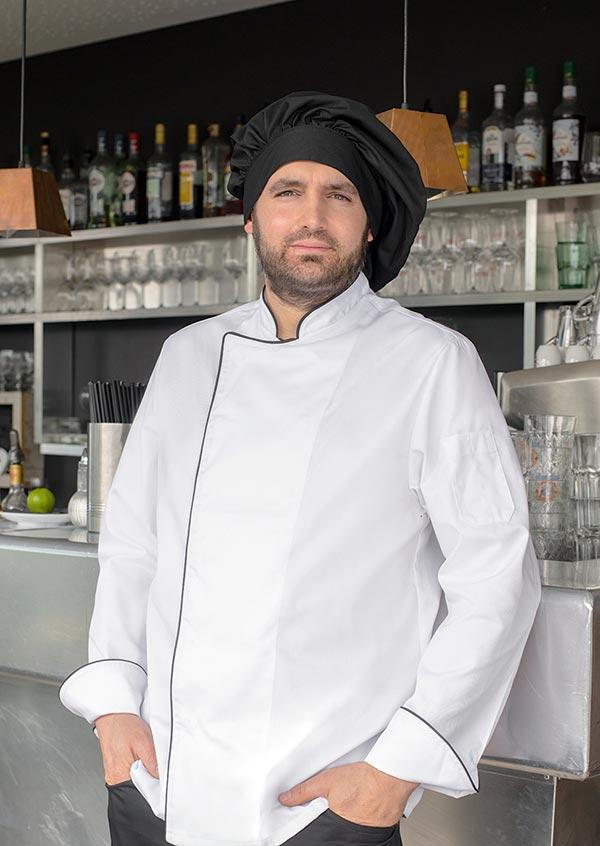 Kochmützen in schwarz