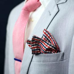 Einstecktuch in weiss MATT für Frackhemd Smokinghemd